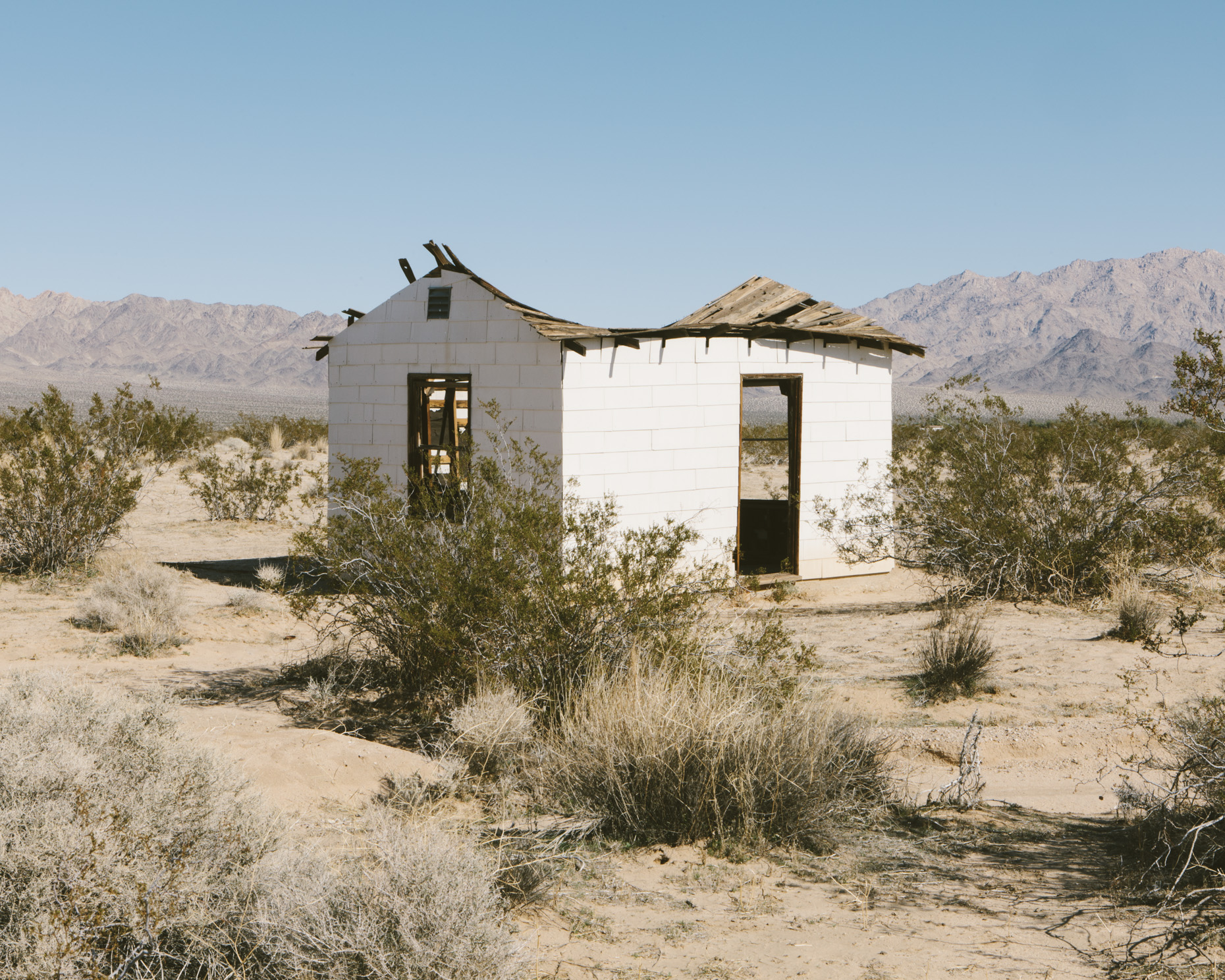 Abandoned home in desert, Twentynine Palms, CA - Paul Edmondson