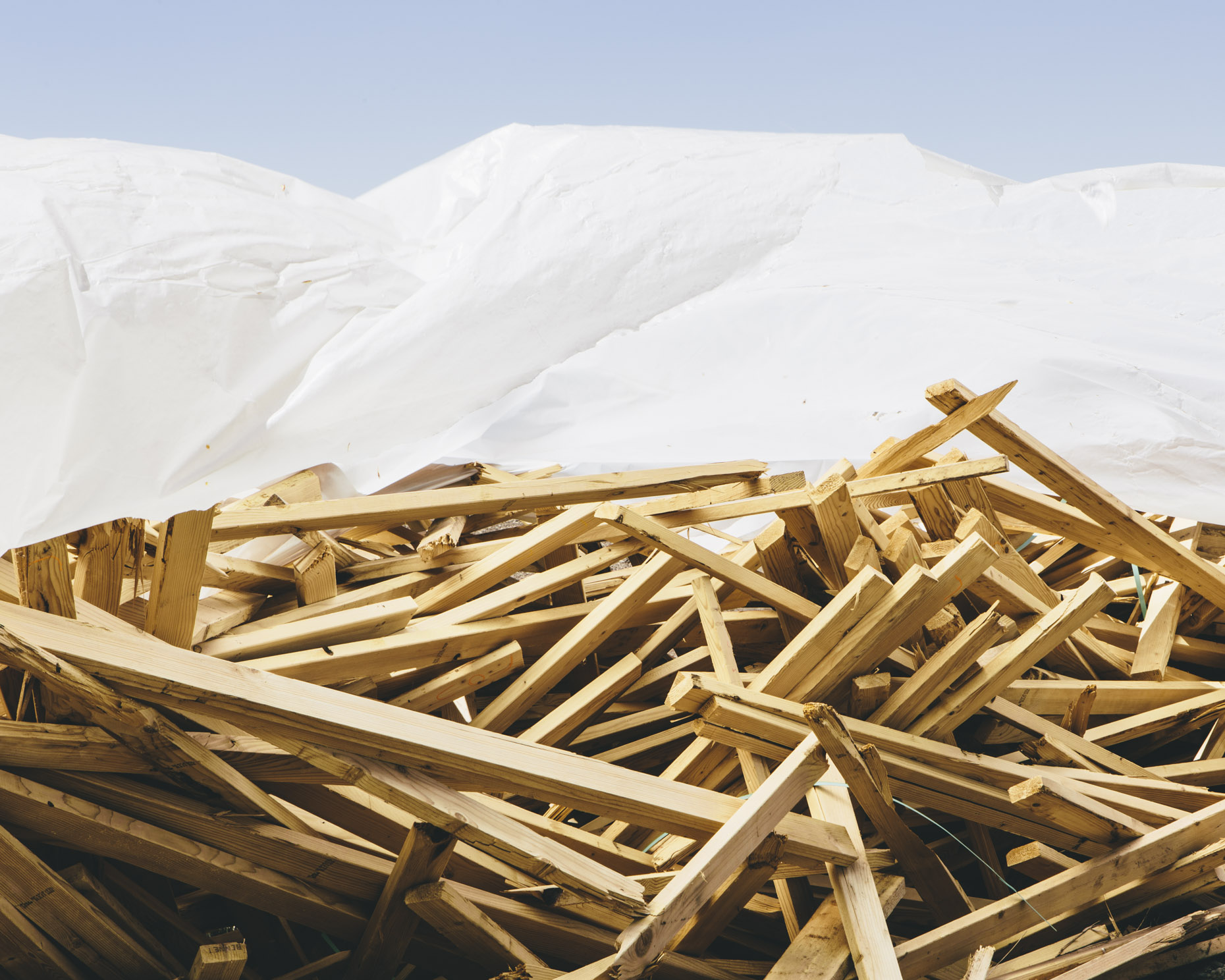 Discarded lumber pile, Palouse, WA - Paul Edmondson